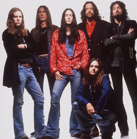 The Black Crowes at Cynthia Woods Mitchell Pavilion