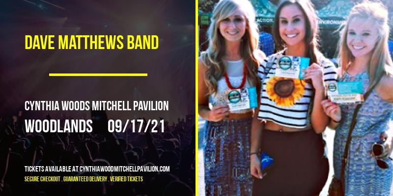 Dave Matthews Band [CANCELLED] at Cynthia Woods Mitchell Pavilion